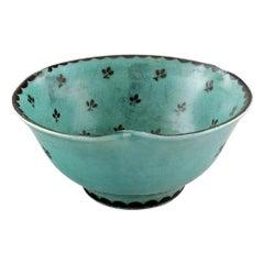 Wilhelm Kåge for Gustavsberg. Argenta Bowl in Ceramic, 1940s