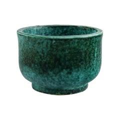Wilhelm Kåge for Gustavsberg, Bowl in Glazed Ceramics, 1950s-1960s