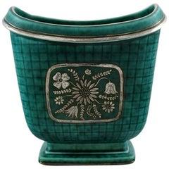 Wilhelm Kåge/Kaage, Gustavsberg, Argenta Vase in Ceramics, Art Deco