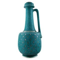 Wilhelm Kåge/Kage, Gustavsberg, Argenta Art Deco Large Vase / Bottle