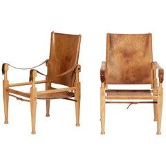 Wilhelm Kienzle Safari Chair Wohnbedarf, 1950s