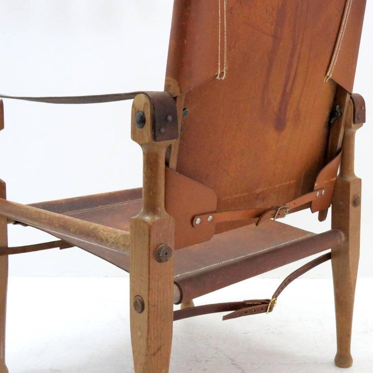Wilhelm Kienzle Safari Chair, 1950 For Sale 3