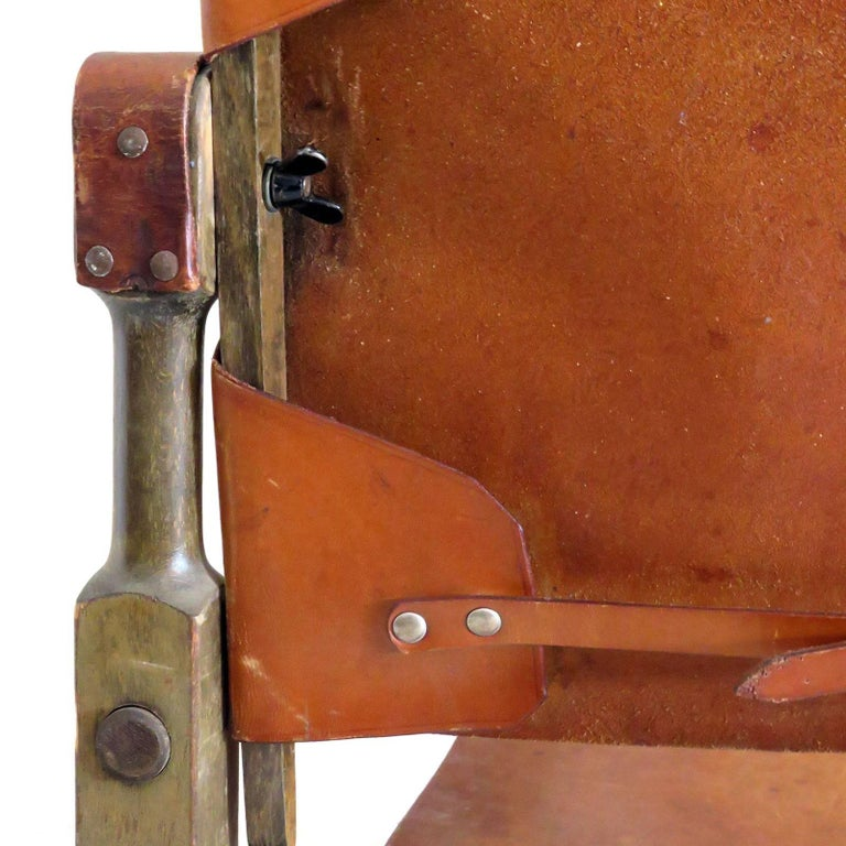 Wilhelm Kienzle Safari Chair, 1950 For Sale 3