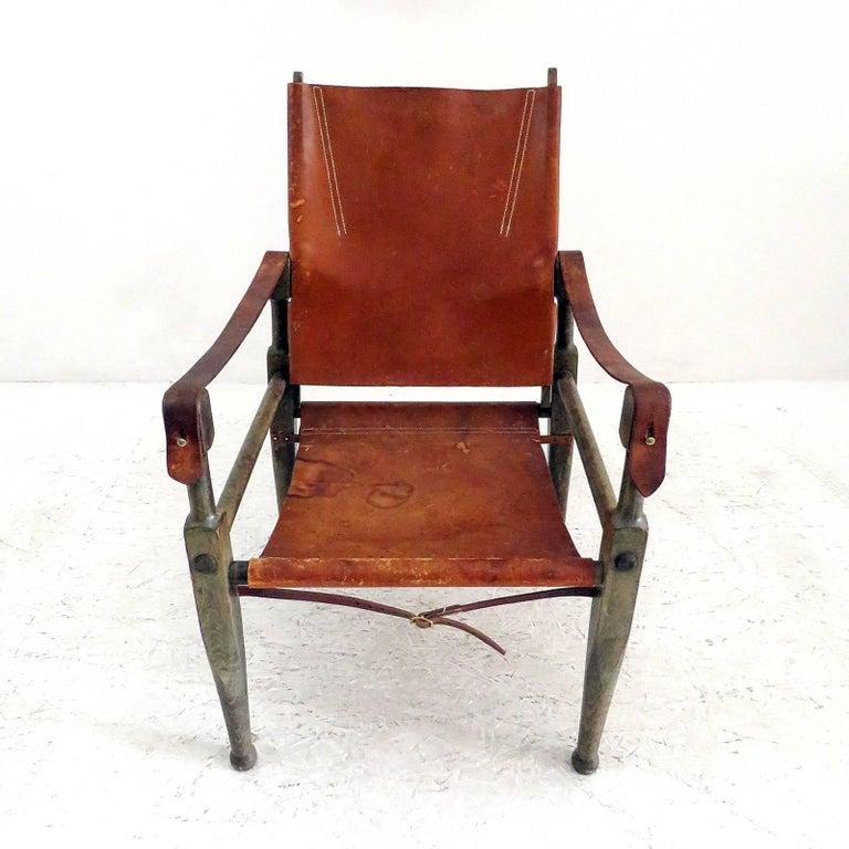 Scandinavian Modern Wilhelm Kienzle Safari Chair, 1950 For Sale