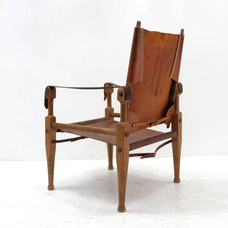 Mid-20th Century Wilhelm Kienzle Safari Chair, 1950 For Sale