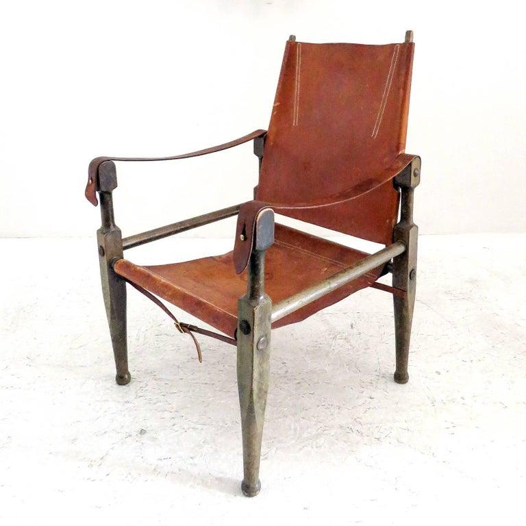 Mid-20th Century Wilhelm Kienzle Safari Chair, 1950 For Sale