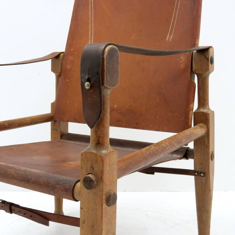 Wilhelm Kienzle Safari Chair, 1950 For Sale 1