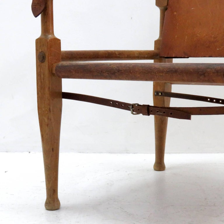 Wilhelm Kienzle Safari Chair, 1950 For Sale 2