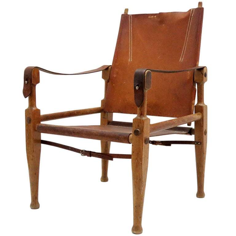 Wilhelm Kienzle Safari Chair, 1950 For Sale