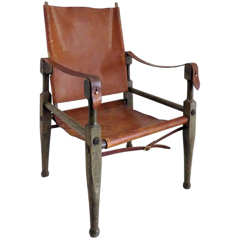Wilhelm Kienzle Safari Chair, 1950 For Sale