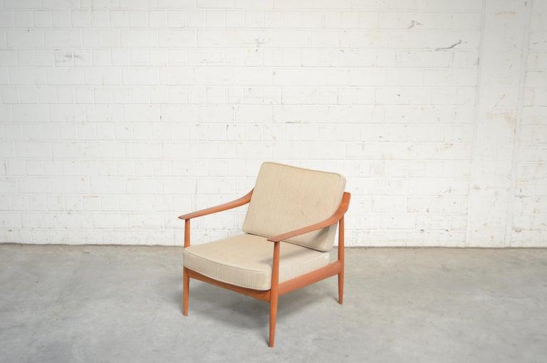 Wilhelm Knoll Antimott Teak Chair Armchair, 1960s 10