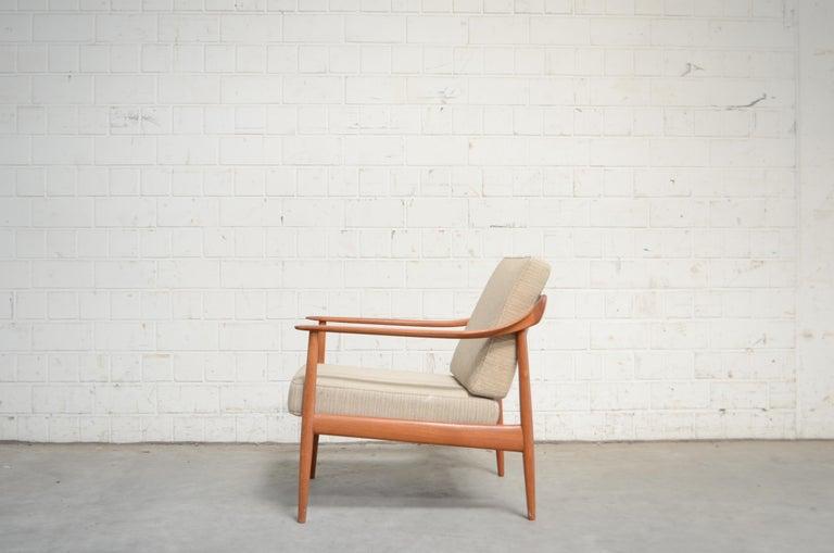 Wilhelm Knoll Antimott Teak Chair Armchair, 1960s 12