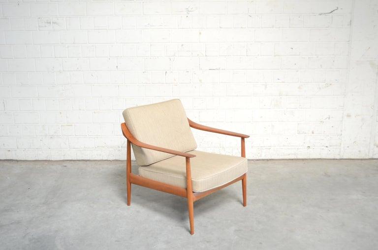 Wilhelm Knoll Antimott Teak Chair Armchair, 1960s 2