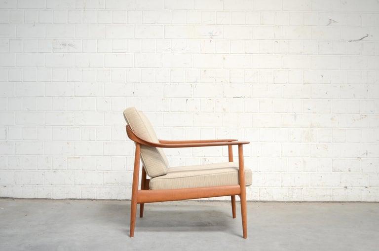 Wilhelm Knoll Antimott Teak Chair Armchair, 1960s 3