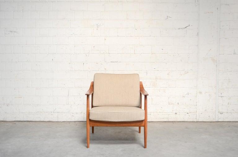 Wilhelm Knoll Antimott Teak Chair Armchair, 1960s 4