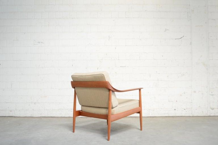 Wilhelm Knoll Antimott Teak Chair Armchair, 1960s 8
