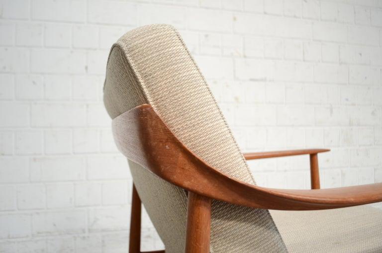 Wilhelm Knoll Antimott Teak Chair Armchair, 1960s 9