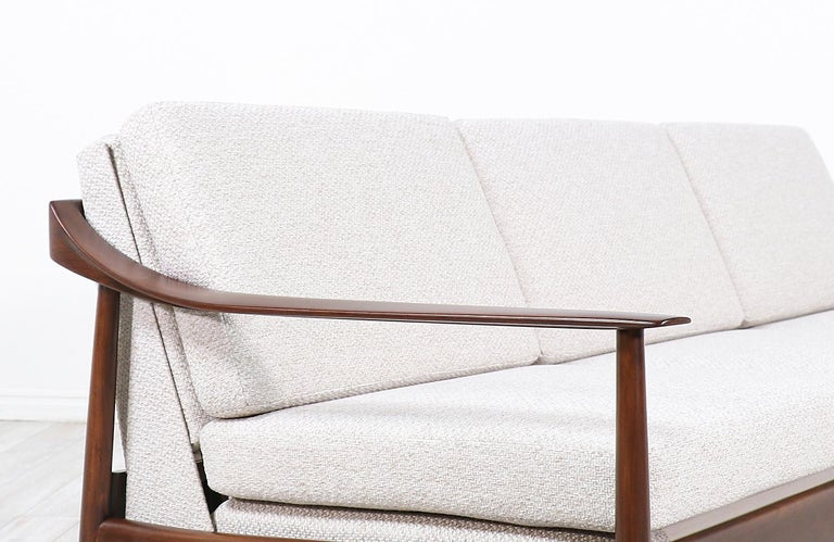 Wilhelm Knoll Convertible Sofa / Daybed for Antimott Knoll For Sale 3
