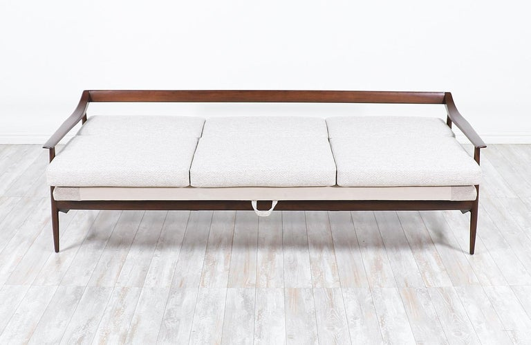 German Wilhelm Knoll Convertible Sofa / Daybed for Antimott Knoll For Sale