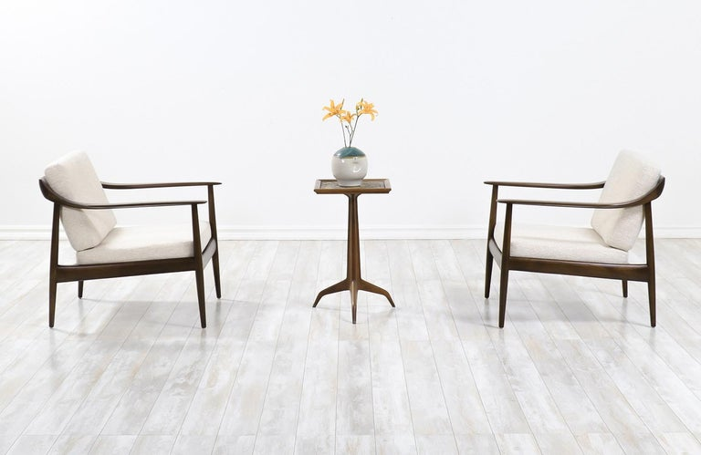 Mid-Century Modern Wilhelm Knoll Lounge Chairs for Antimott Knoll