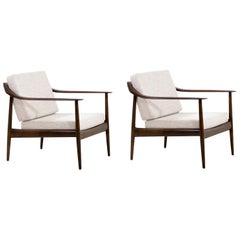 Wilhelm Knoll Lounge Chairs for Antimott Knoll