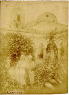 Taormina - Von Gloeden n° 139 - Original Photograph by W von Gloeden - 1909