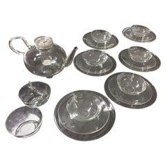 Wilhelm Wagenfeld Schott Jena Original Bauhaus Glass Tee Set