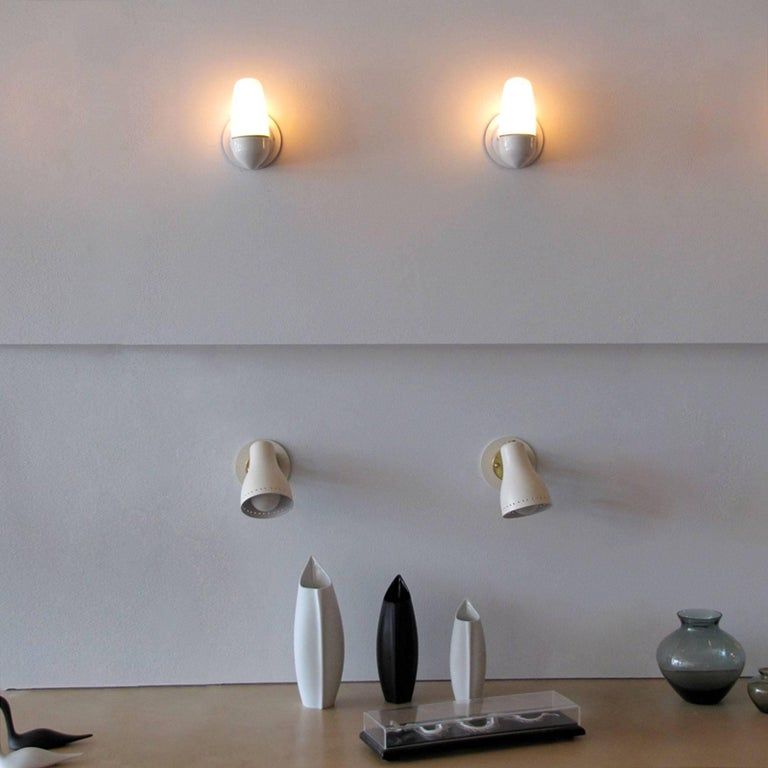 Wilhelm Wagenfeld Wall Lights for Lindner, 1950 For Sale 2