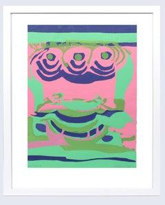 "Limited Edition Print by Wilhelmina Godfrey ""Bright Dream"" 1967"