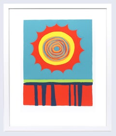 """Limited Edition Print by Wilhelmina Godfrey """"Red, Hot, and Blue"""" 1971"""