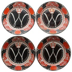 Wilhelmina, Queen of the Netherlands, 1898 Inauguration Commemorative Plates