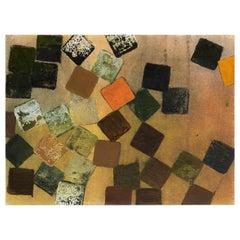 Wilhelminia Barns-Graham, Autumn Fall, Modern British, Oil, Paper, 1965, St Ives