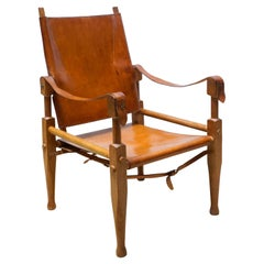 Wilhem Kienze 'Safari' Chair, circa 1950