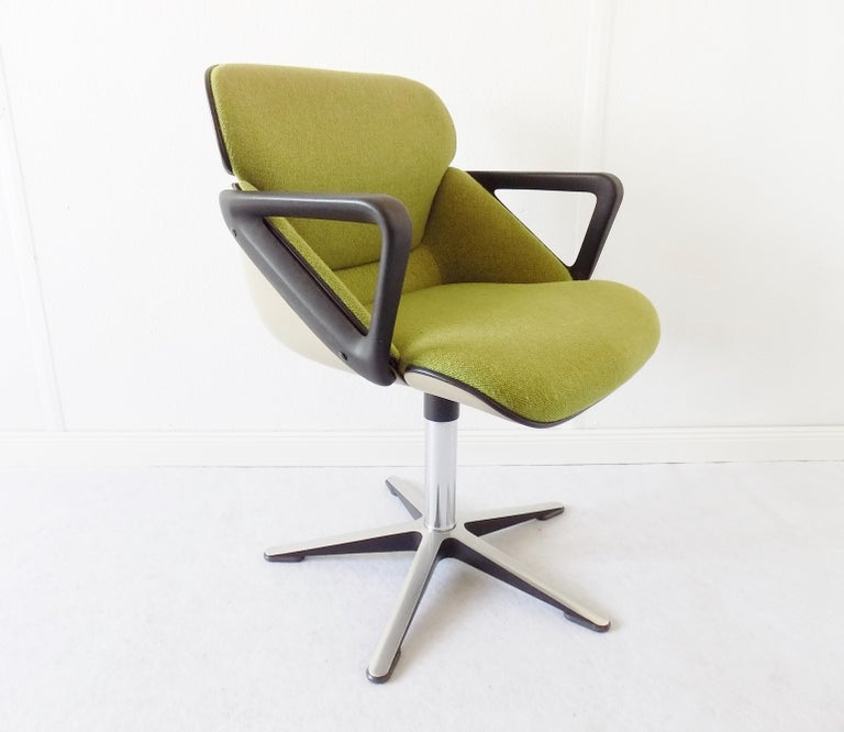 Wilkhahn Chair Model 190 by Hans Roericht, Set of 4 Chairs, German, Midcentury 12