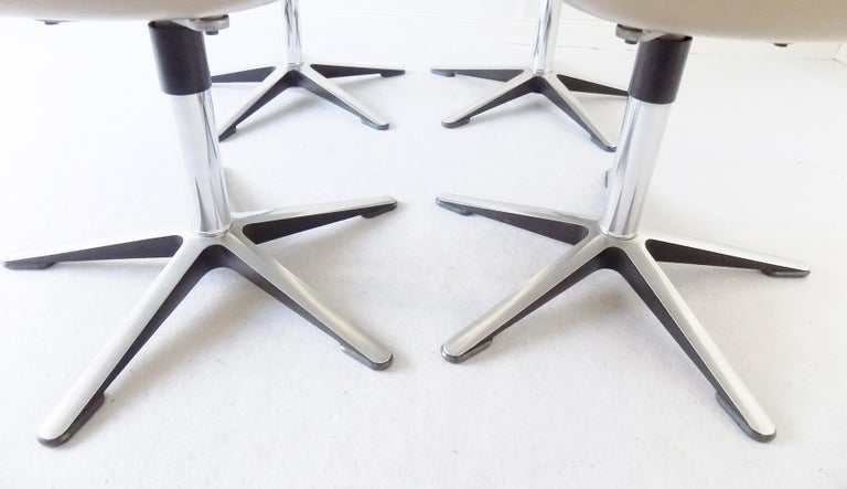 Wilkhahn Chair Model 190 by Hans Roericht, Set of 4 Chairs, German, Midcentury 17