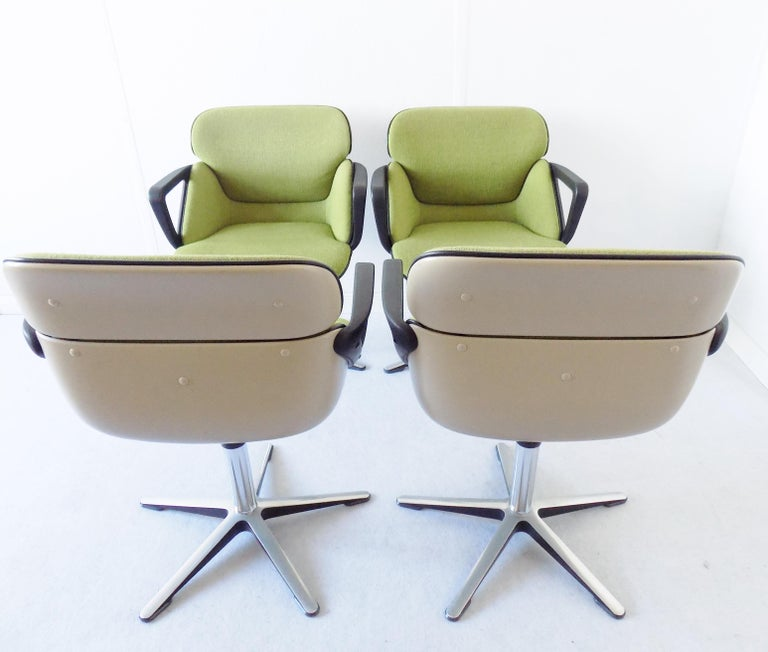 Wilkhahn Chair Model 190 by Hans Roericht, Set of 4 Chairs, German, Midcentury 2