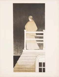 Widow's Walk by Will Barnet