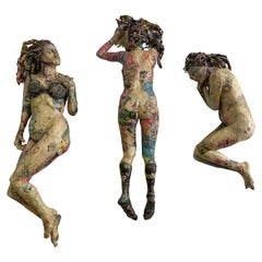"""Will Kurtz """"Reflections of Chalkley"""" Papier Mache Wall Sculptures, 2013"""