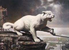 CORRIDOR, Contemporary Realism, animal allegory, landscape