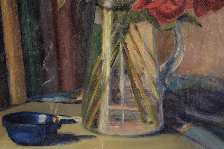 The Pirates of Penzance - Roses and Books - Still Life by Willie Kay Fall For Sale 1