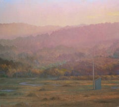 Blue Shed No. 1 / oil on canvas