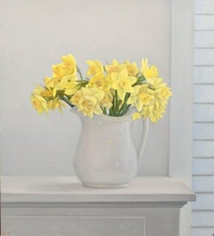 Daffodils / oil on canvas