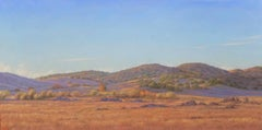 Going to Borrego / oil on canvas landscape desert painting