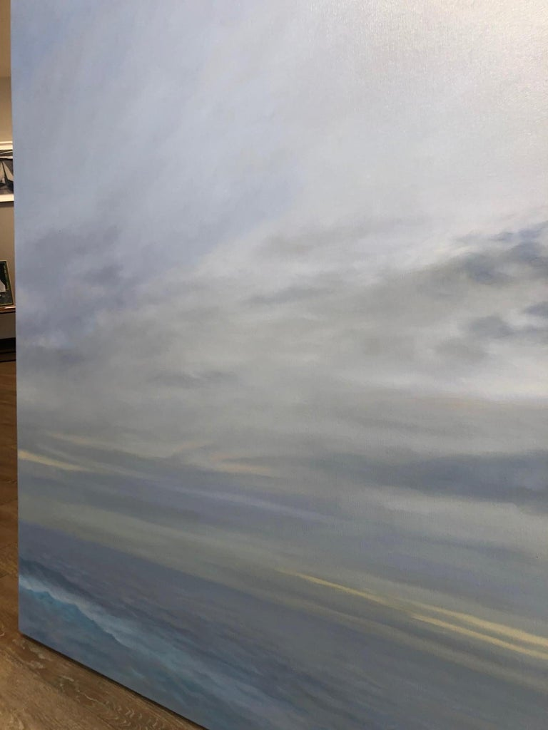 Grey Ocean - Painting by Willard Dixon