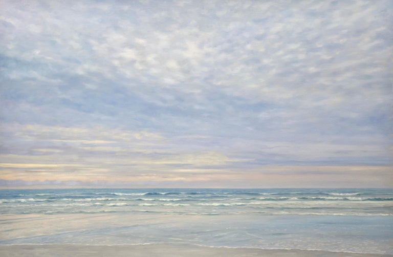 Willard Dixon Still-Life Painting - Morning Beach