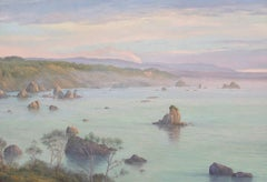 North Coast  / early morning - oil on canvas (58 x 84 inches)