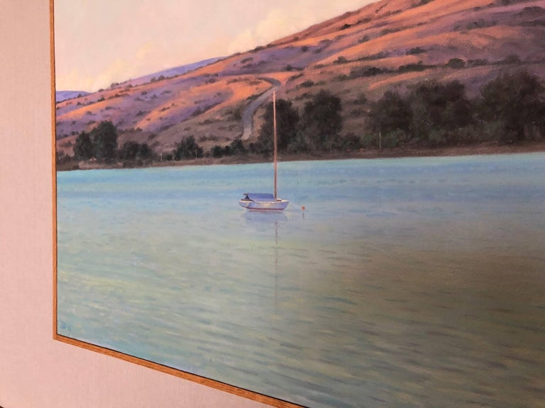 Tamales Bay Evening / oil on canvas For Sale 1