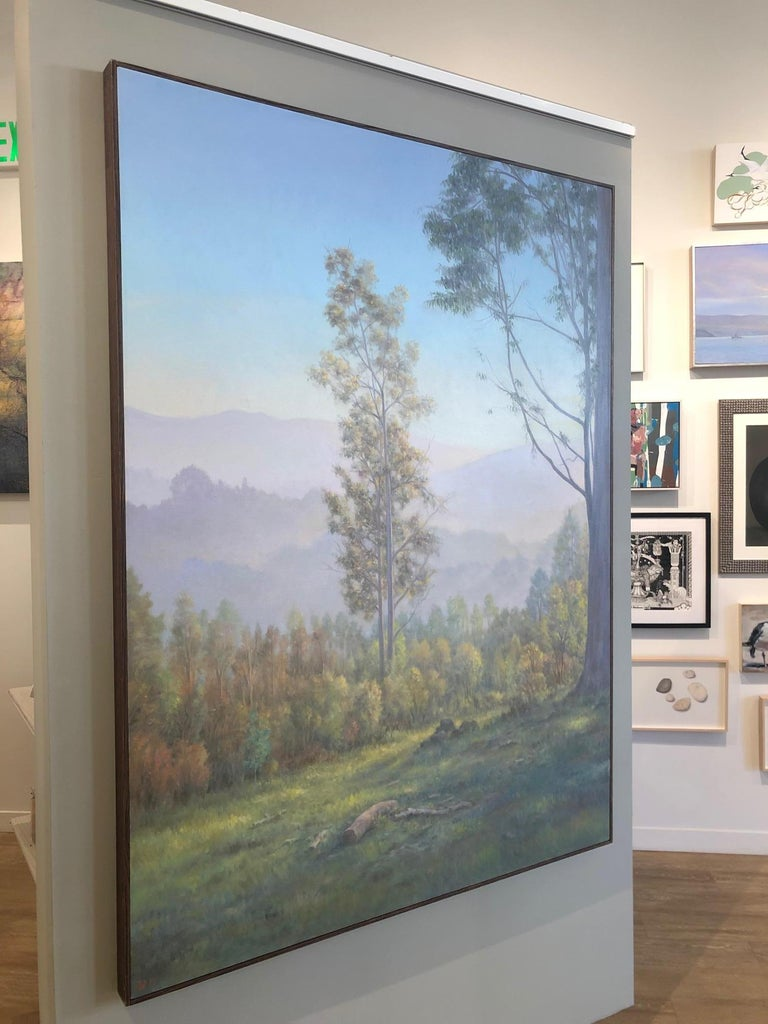 The Eucalyptus  - Painting by Willard Dixon