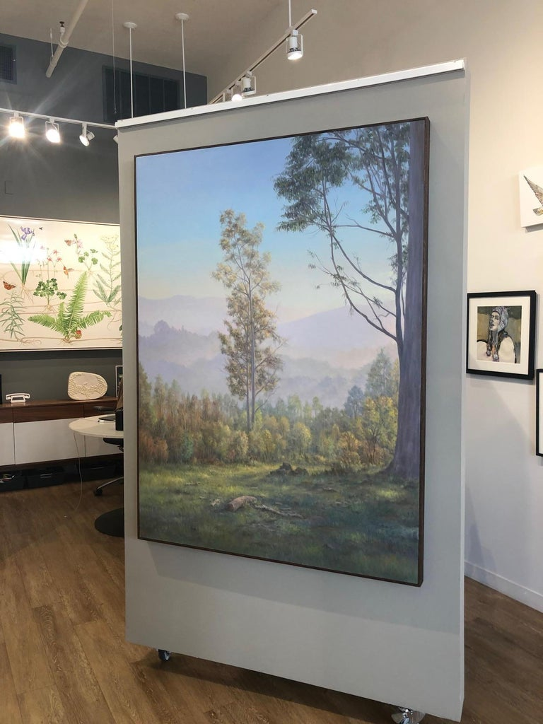 The Eucalyptus  - Contemporary Painting by Willard Dixon