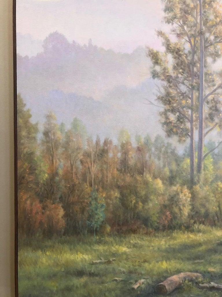 The Eucalyptus  - Gray Still-Life Painting by Willard Dixon